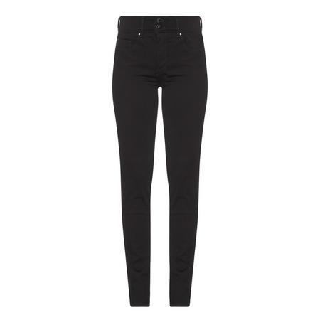 5a9d45693ae59 Slim Push-In Secret Jeans Black