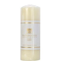 Luxury Pillar Candle Medium White