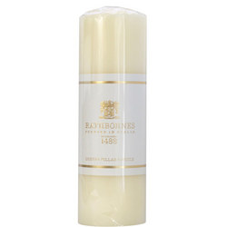Luxury Pillar Candle Tall White