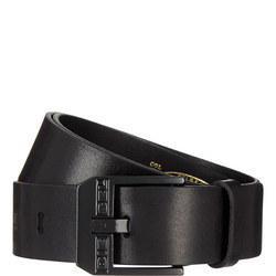 Bluestar Leather Belt Black