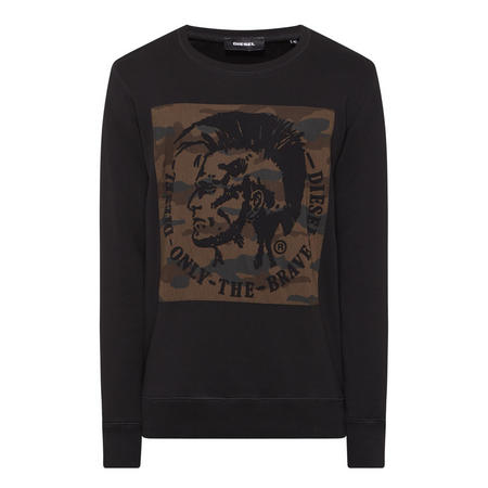 Joe Mohawk Sweatshirt Black