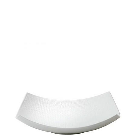 Gio Sculptural Serving Bowl 28cm White