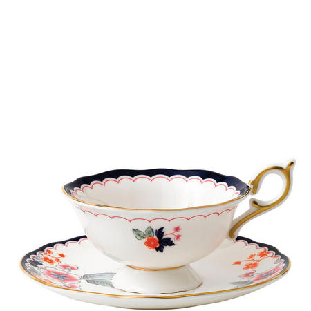 Wonderlust Teacups & Saucers Jasmine Bloom