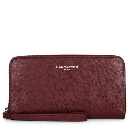 Adèle Top Zip Wallet Red