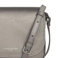Adèle Saddle Bag Metallic