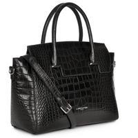 Exotic Croco Bag Black