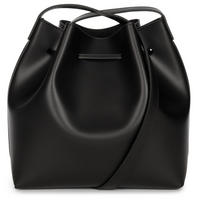 Pur Studs Bucket Bag Black