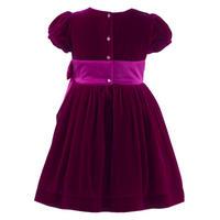 Girls Maxi Bow Dress Pink
