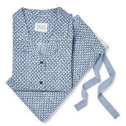 Pineapple Skies Pyjamas Blue