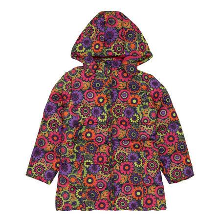 Girls Floral Coat