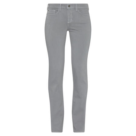 Marilyn Straight Fit Jeans Light Grey