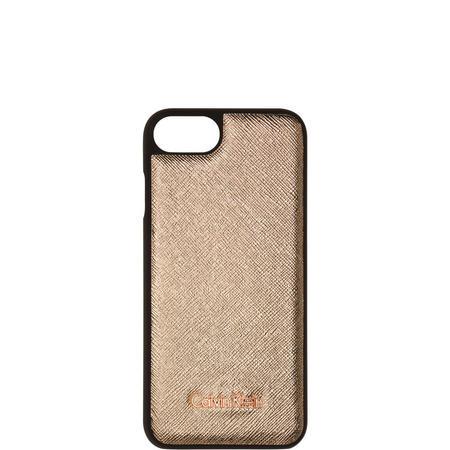 Marissa Metallic Etched iPhone Case Rose Gold