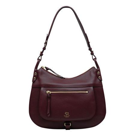 Highgate Wood Hobo Bag Red