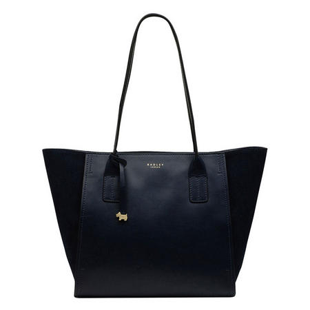 Tiverton Park Zip Tote Bag Blue