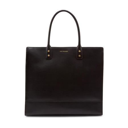 Daphne Square Tote Bag Black