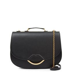 Isabella Large Crossbody Bag Black