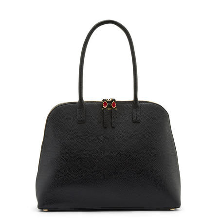Large Bobbi Shoulder Bag Black