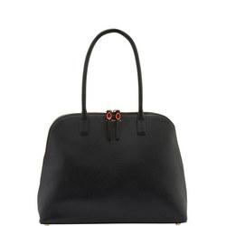 Large Bobbi Shoulder Bag Black