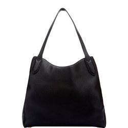 Medium Jackie Shoulder Bag Black
