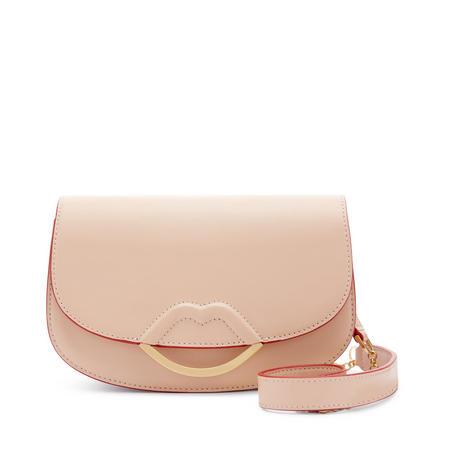 Small Isabella Crossbody Bag Beige