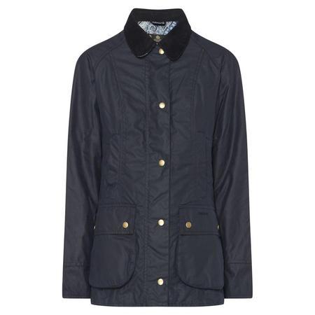 Abbey Wax Jacket Blue