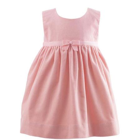 Bow Detail Sleeveless Dress Pink