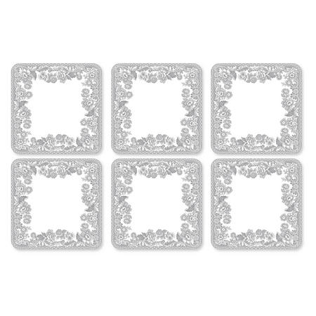Delamare Rural Coaster Set of 6 Multicolour