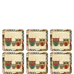 Pimpernel Spice Road Coaster set of 6