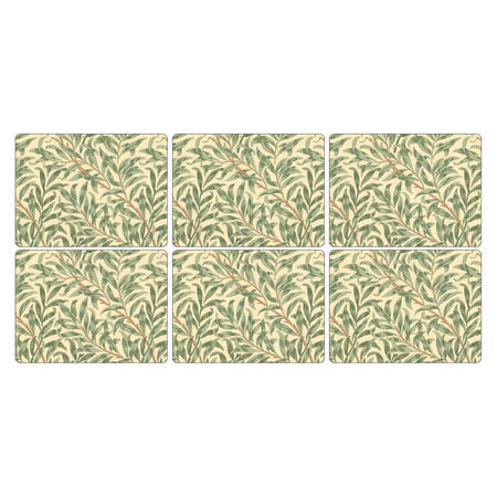 Willow Bough Placemat Set of 6 Multicolour
