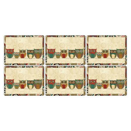 Spice Road Placemat Set of 6 Multicolour