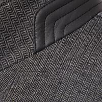 Flexcity Herringbone Coat Grey