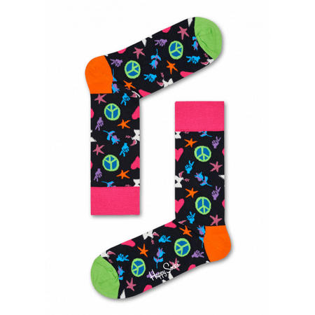 Peace and Love Socks Multicolour