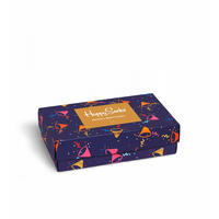 Happy Birthday Gift Box Sock Set Blue