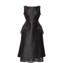 Dee Feather Dress Black