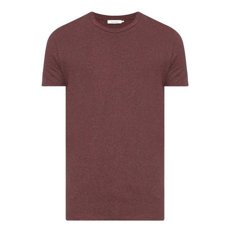 Kronos Marl Crew Neck T-Shirt Red