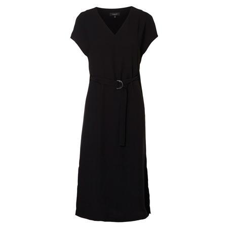 Newa Belted Dress Black