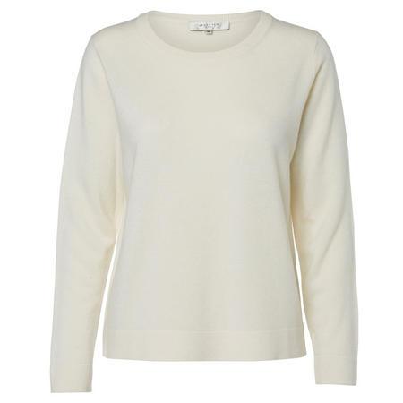 Aya Long Sleeve Sweater White