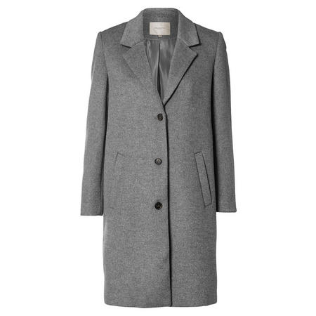 Sasja Wool Coat Grey