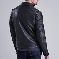 Sprocket Leather Jacket Black