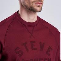 Steve McQueen Sweat Top Red