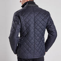 Windshield Quilted Jacket Black