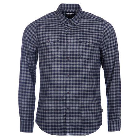 Ratchet Check Shirt Navy