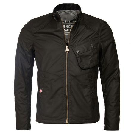 Legion Waxed Jacket Black