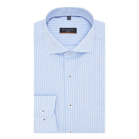 Formal Stripe Shirt White