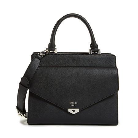 Lottie Satchel Bag Black