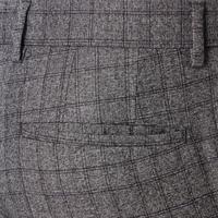 Quinten Check Trousers Grey