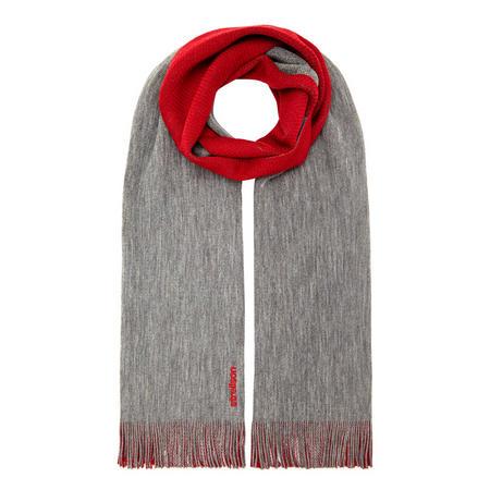 Double Side Scarf Red