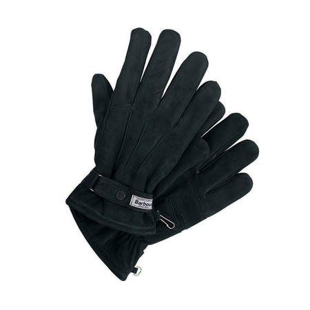 Thinsulate Leather Gloves Navy