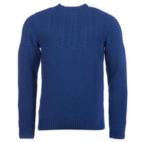 Craster Cable Knit Sweater Blue