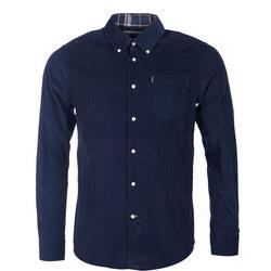 Morris Corduroy Shirt Navy